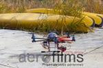 Drone Sur Un Ponton