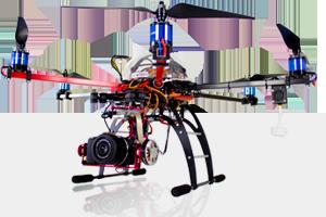 Drone pour photographie aérienne