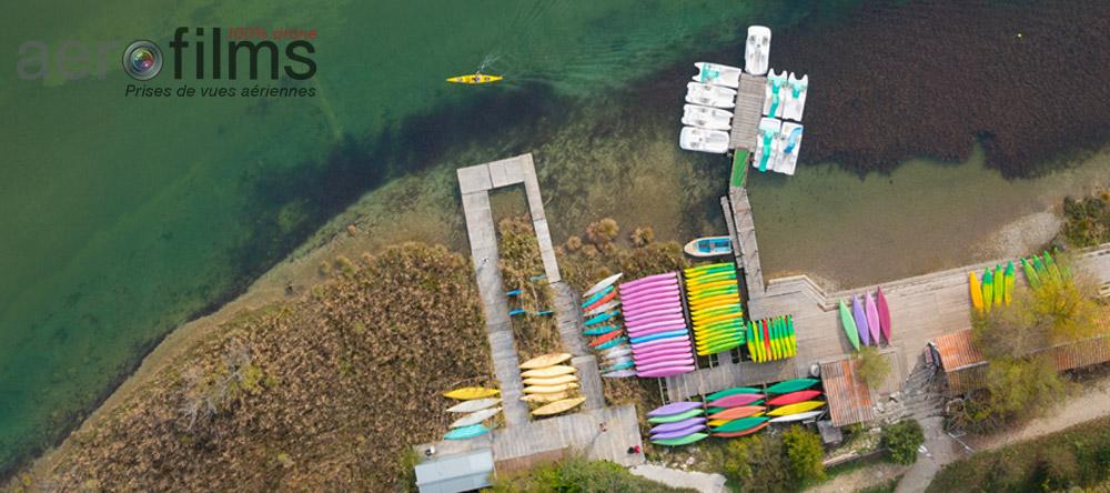 Base de canoë dans le Verdon