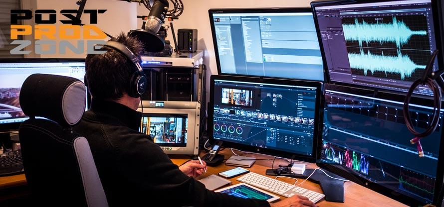 Studio de postproduction numérique