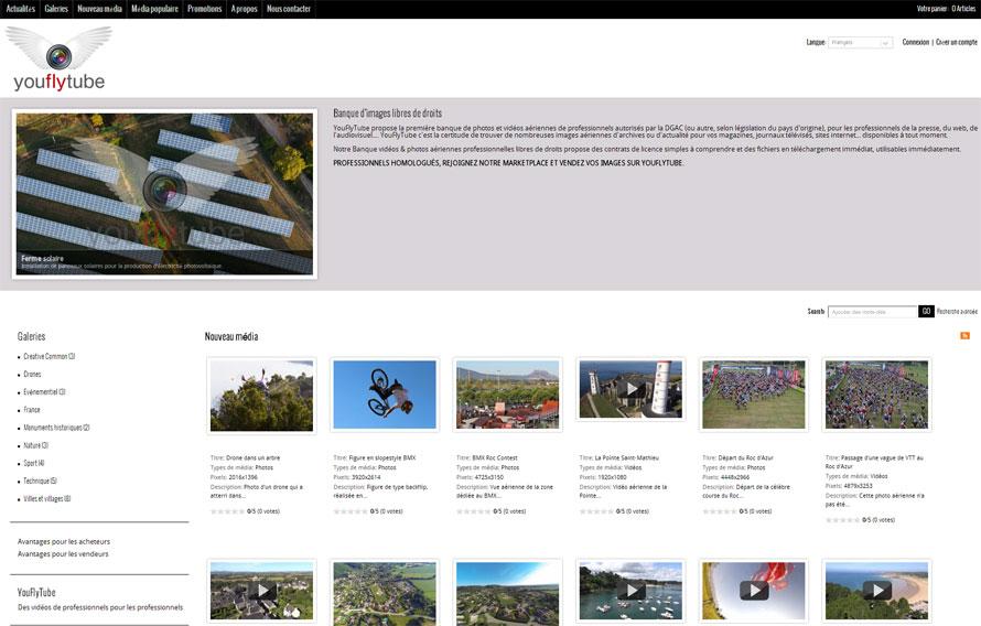 Banque d'images aériennes libres de droits