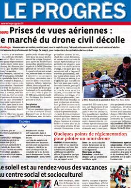 Article sur Le Progrès - Aerofilms