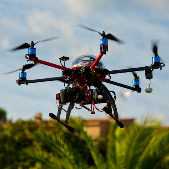 Drone en vol à Fréjus (83)