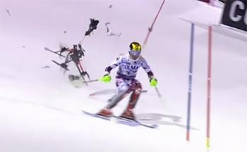 Crash de drone en Italie pendant la coupe du monde de ski alpin