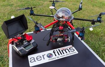 Budget de création d'une société de production d'images aériennes